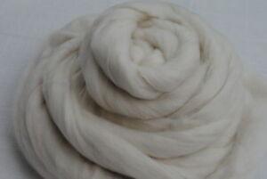 Heidifeathers-White-Merino-Wool-Top-Roving-100g-Felting-Spinning