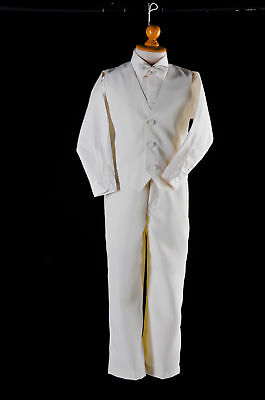 Formal Ivory Christening Suit for Infant/Newborn/Toddler/Baby Boys - Size 00-1