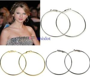 Free-shipping-10-Pairs-Large-Round-Hoops-Earring-Finding-Pick-Colors-and-Sizes