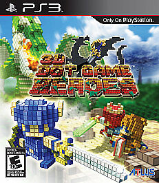 3D Dot Game Heroes  (Sony Playstation 3, 2010) Complete