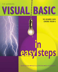 Visual Basic in Easy Steps, Anderson, Tim, Very Good Book