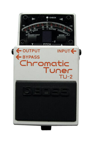 boss tu 3 chromatic tuner guitar effect pedal ebay. Black Bedroom Furniture Sets. Home Design Ideas