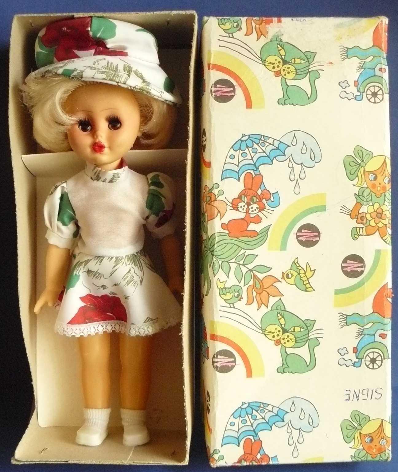 1988 Soviet Russia USSR Lithuanian SSR Doll  RASJALE  in Box UNUSED