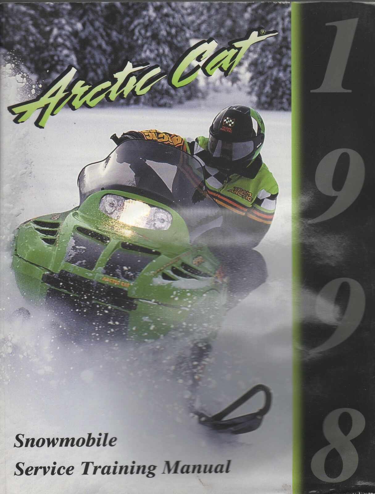 1998 ARCTIC CAT SNOWMOBILE SERVICE TRAINING  MANUAL