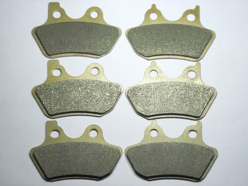 Front Rear Brake Pads For Harley Touring FLHTCUi Electra Glide Ultra Classic HOT