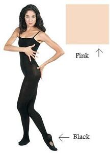 NEW-Capezio-Danskin-Dance-Ballet-Skate-Skating-Body-Tights-BodyTights-OSFA-Child