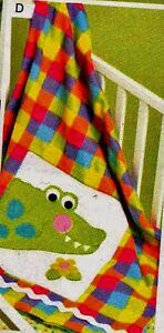 Baby Infant Quilt Blanket Items Patterns Lion Toy Giraffe
