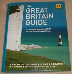 AA THE GREAT BRITAIN GUIDE LARGE FORMAT NEW UNUSED - Crook, Durham, United Kingdom - AA THE GREAT BRITAIN GUIDE LARGE FORMAT NEW UNUSED - Crook, Durham, United Kingdom