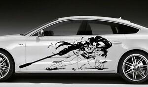 Car Vinyl Anime Sticker Graphics Girl With A Shooting Gun