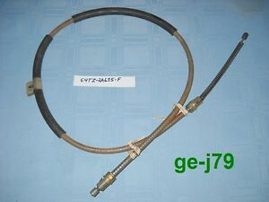 1983 1985 ford ranger parking brake cable oem nos lh rear for Ford motor company auto parts