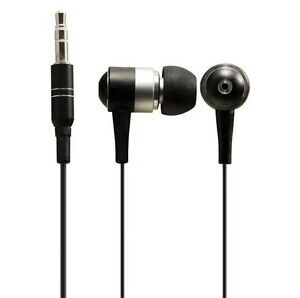 Sentry-Metal-Stereo-Earbuds-in-Black-HO491-Brand-New