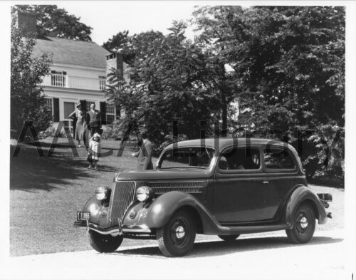 Ref. # 41980 1936 Ford Tudor Factory Photo