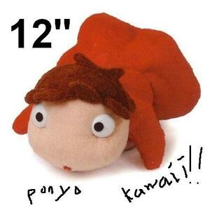 PONYO-12-Plush-Doll-By-The-Cliff-Toy-Studio-Ghibli-NEW