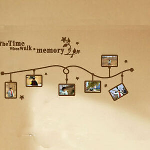 New-034-Time-Memory-034-DIY-Wall-Art-Sticker-Home-Decal-Mural-Decor-PVC-Stickers