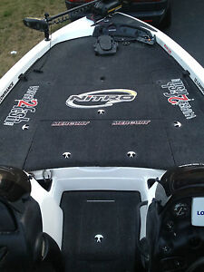 Large  Carpet Graphic Nitro Decal Stickers For BASS Fishing EBay - Nitro bass boat decals