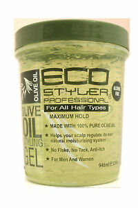 olive hair styling eco styler olive styling hair gel maximum hold 32 fl 3327