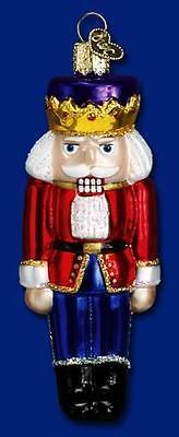 Nutcracker Prince Ornament Glass Old World Christmas 44007 2