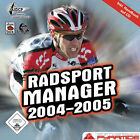 Radsport Manager 2004/2005 (PC, 2005, Jewelcase)