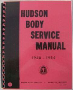 1948-1949-1950-1951-1952-1953-1954-Hudson-Convertible-Manual