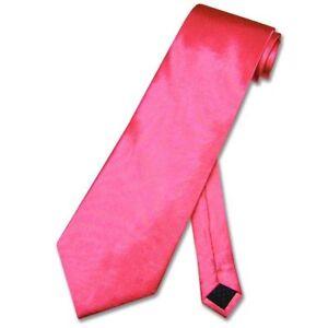 NeckTie-Solid-Hot-PINK-FUCHSIA-Men-039-s-Fuschia-Neck-Tie