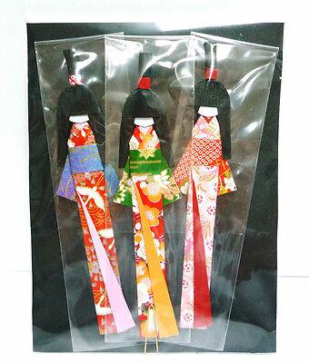Japanese Kimono Doll Book Mark / Kyoto