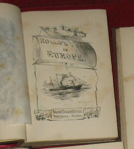 Rollos-Tour-of-Europe-by-Jacob-Abbott-7-Vols-1858-1859