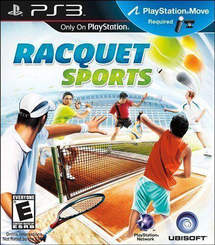 Racquet Sports PS3 Beach Tennis Squash PingPong Badminton NEW SEALED