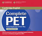 Complete PET Class Audio CDs (2) by Emma Heyderman, Peter May (CD-Audio, 2010)