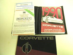 GM-1990-Chevy-Corvette-Owner-039-s-Manual-o-10122656B