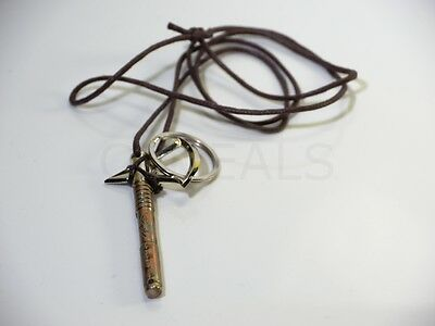 Assassin's Creed Tomahawk Axe Necklace Keychain Cosplay - Honor the Creed NEW