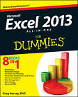 Excel 2013 All-in-one For Dummies by Greg Harvey (Paperback, 2013)
