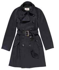 COMME-DES-GARCONS-H-M-NAVY-BLUE-FINE-WOOL-TRENCH-COAT-MAC-18-14-44-RARE-NEW