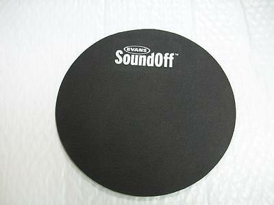 NEW HQ SOUNDOFF 10 INCH DRUM TOM MUTE PRACTICE PAD MUFFLER SOUND OFF