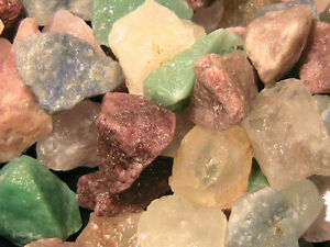 TUMBLER-ROCKS-Quartz-Mix-FREE-SHIPPING-Half-Lb-Stones-Tumbling-Rock-Tumbler