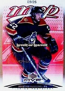 UD-MVP-2003-KRISTIAN-HUSELIUS-NHL-FLORIDA-PANTHERS-RARE-GOLD-SCRIPT-AUTO-25