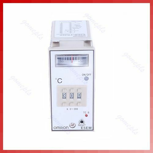 New Omron Electric Temperature Controller E5EM-YR40K E5EMYR40K