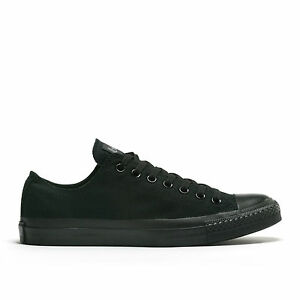 Converse-Chuck-Taylor-All-Star-Black-Mono-Low-Top-Size-3-5-16