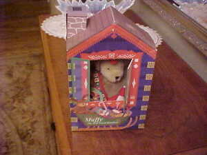 MUFFY VANDERBEAR THE RED NOSED REINBEAR HOLIDAY LTD BOXED ED 1996
