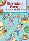 My Birthday Sticker Activity Book: Volume I by Viki Woodworth (Paperback, 2004)