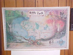 Map-of-Middle-Earth-J-R-R-Tolkien-The-Hobbit-1976-Nicklas-Aquila-Jr-Janoff
