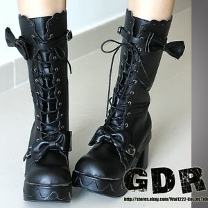 KERA-Sweet-DOLLY-Lolita-BOOTS-GOTH-Shoes-5-5-11-34-44