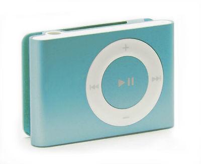 apple ipod shuffle 2nd generation light blue 1 gb ebay. Black Bedroom Furniture Sets. Home Design Ideas