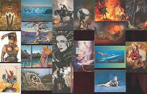 ARTIST-039-S-CHOICE-72-Card-Fantasy-Art-Set-BORIS-FRAZETTA-OLIVIA-SORAYAMA