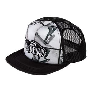 Vans-Off-The-Wall-Classic-Patch-Hologram-Adjustable-Trucker-Hat-Cap-NWT-OSFA