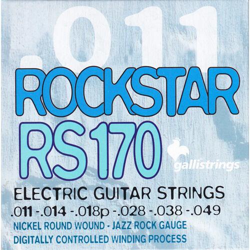 Jazz Rock - Saiten für E-Gitarre Galli Rockstar RS170 011-049