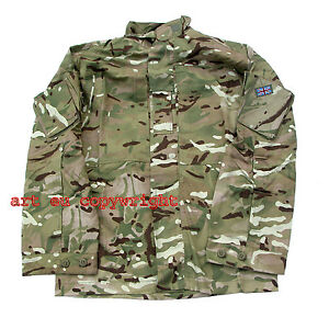 Genuine-British-Army-Multicam-MTP-PCS-Shirt-Jacket-New-Cond-Military-Airsoft