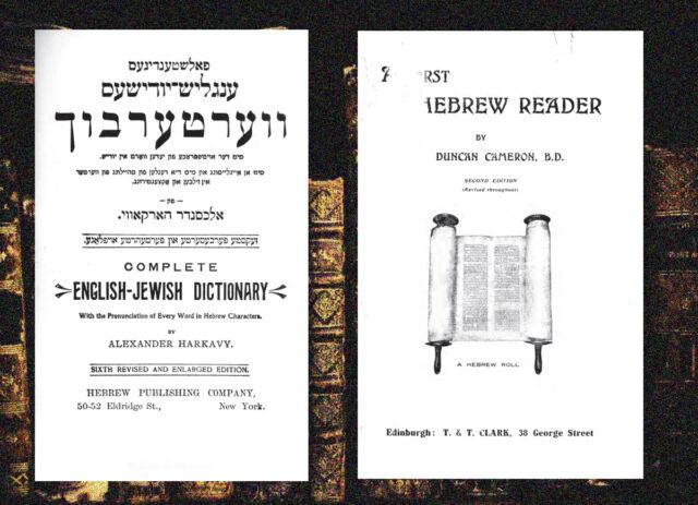 Learn Old Testament Bible Hebrew - 100 PDF Books on DVDrom