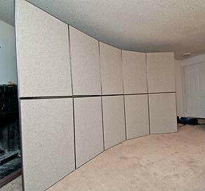 Used Portable 9 5 X10 Art Wall Panel Trade Show Booth