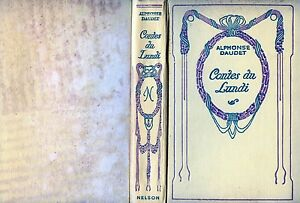 ALPHONSE-DAUDET-1933-034-CONTES-DU-LUNDI-034-NELSON-EDITEURS-PARIS
