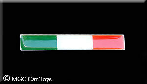 Italy Italia  Metal Decal Badge fender grille emblem Auto Car Flag Sticker Badge